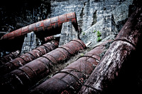 Old Spillway Pipes